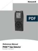 Detector multigaz - Honeywell PhD6