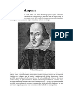 Biografía William Shakespeare