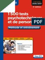 Tests Psychotechnique