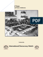 2nd Report, Paris Peace Conference IDW