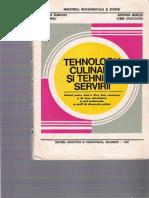 XII Burghiu Fl. & Colab. - Tehnologia Culinara Si Tehnica Servirii 1990