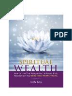 Spiritual Wealth