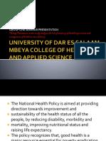 University of Dar Es Salaam g2 Present