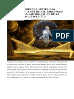 Segnali Dal Cielo Archeologia e Pianeta x