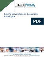 Curso Experto en Consultoria Psicologica