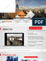 BSI Mikrotik Security Presentation