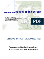 Basic Concept on Toxicology