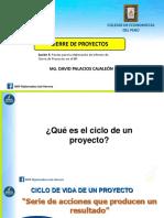 Presentación de Para La Elaboración de Informe de Cierre de Proyectos en El BP