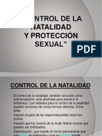 Control de La Natalidad y Proteccion Sexual