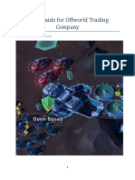 Short Guide for Offworld Trading Company