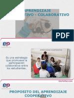 25. Aprendizaje Cooperativo y Colaborativo