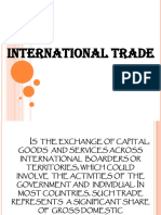 International Trade (Group 6)