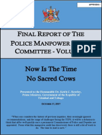 Final Report of the Police Manpower Audit Committee Volume 1