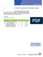 Deutsche Bank USD Currency Portfolio Index - Guide 20160120