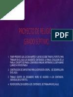Proyecto de RELIGION Grado Septimo