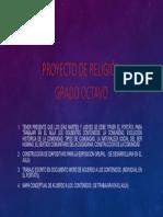 Proyecto de Religion Grado Octavo