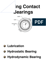 Sliding Contact Bearings