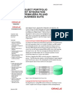 Aia Pip Fin Project Mgmt p6 Ebs Data Sheet
