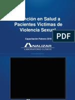 Atencion en Salud a Pacientes Victimas de Violencia Sexual