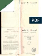 GONZÁLEZ de CARDEDAL, O., Jesus de Nazaret. Aproximacion a La Cristologia, 1975