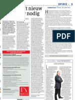 Artikel - Cobouw - De bouw heeft nieuw type leider nodig - 18062010
