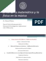 Matematica y Fisica en La Musica