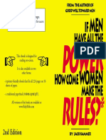 If Men Have All The Power, How Can Women Make the Rules?