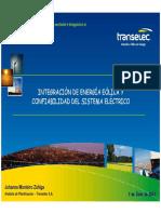 Cigre Integracion Eolica_Transelec