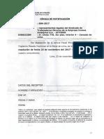 Proceso Penal de la Municipalidad de Lima contra Obreros/as SITOBUR