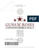 Guns N' Roses Chinese Democracy on Tour Setlist Almanac