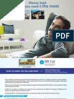 SBI Smart Money Back Gold Brochure English(1)