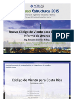 Nuevo Código de Viento de Costa Rica