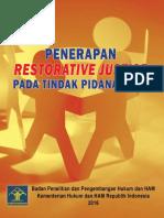 PENERAPAN RESTORATIVE JUSTICE PADA TINDAK PIDANA ANAK