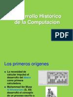 Desarrollo Historico Computacion