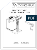 ESTA-OMEGA 2000_Electrostatic Powder Coating Unit
