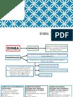 Disnea Exposición Semiologia Corregido