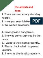 Adverb Quiz