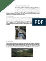 El Agua en Las Civilizaciones Inca