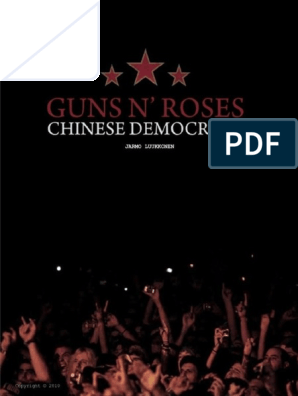 GN'R Chinese Democracy on Fuckin' Tour | Leisure