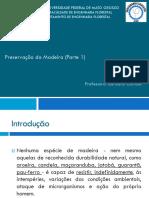 Preservação Da Madeira (Parte 1)