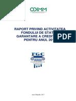 Raport FGC 2016