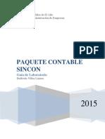 Guía de Laboratorio SINCON(UPEA-Administración, 2015)