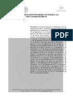 Disposiciones de Carácter General Aplicables a Las Instituciones de Crédito
