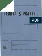 Gustavo Bueno - Teoría y Praxis