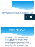 APPROACHES TO CURRICULUM.pptx