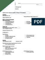 college basic info exemplar