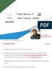 SimLab Basic Training 201601 v14.0d for Online Training