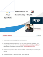 SimLab Basic Training 201601 v14.0d for Online Training