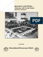 IDW Interview with Soviet Russia, Paris Peace Conference
