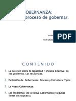 Gobernanza y Gobierno Eficaz.-luiS F. AGUILAR
